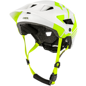 O'Neal Defender 2.0 Casco, nova white/neon yellow